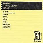 Antibalas The Mercury Lounge - New York, NY - 1.12.03