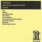 Antibalas High Sierra Music Festival -  Quincy, CA - 7.6.03