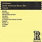 Antibalas Great American Music Hall - San Francisco, CA - 7.5.03