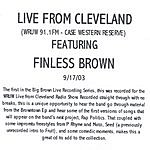 Finless Brown Live From Cleveland @ WRUW