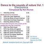 Ken Nunoo Dance To The Sounds Of Nature, Vol.1