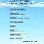 Sam Vaughn American Favorites Played By Sam Vaughn