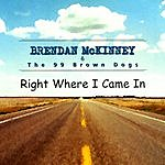 Brendan Mc Kinney & The 99 Brown Dogs Right Where I Came In