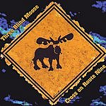 Three Blind Moose Cross On Route Nine