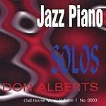 Don Alberts Jazz Piano Solos