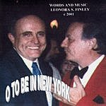 Sal Rainone O To Be In New York