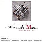 Cartwright/Oppenheim Quintet La Faute De La Musique: Songs Of John Cage