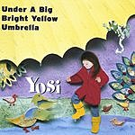Yosi Under A Big Bright Yellow Umbrella