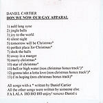 Daniel Cartier Don We Now Our Gay Apparal