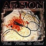 Arson Words Written In Blood