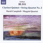 David Campbell Clarinet Quintet/String Quartet No.2