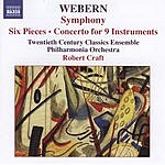 Robert Craft Symphony/Six Pieces/Concerto For 9 Instruments
