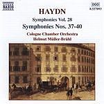 Helmut Müller-Brühl Symphonies, Vol.28: Symphonies Nos.37-40