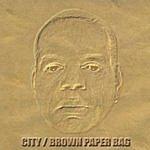 City Brown Paper Bag