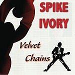 Spike Ivory Velvet Chains