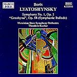 Theodore Kuchar Symphony No. 1/'Grazhyna', Op.68 (Symphonic Ballade)