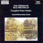 Daniel Blumenthal Complete Piano Etudes