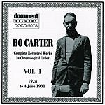 Bo Carter Bo Carter,  Vol.1 (1928 - 1931)
