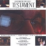 Andrew Beall Testament: Symphony For Marimba And Orchestra