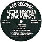 Little Brother The Listening Instrumentals