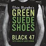 Black 47 Elvis Murphy's Green Suede Shoes
