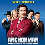 Will Ferrell Anchorman: The Legend Of Ron Burgundy