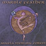 Angela Sterling Forest Marble Feather