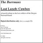 The Burrmans Lost Lonely Cowboy