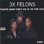 3x Felons Thats How They Do It In The Chi (Parental Advisory)