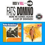 Fats Domino Here He Comes Again/A Lot Of Dominos
