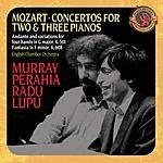 Murray Perahia Concertos For 2 & 3 Pianos/Fantasia For Mechanical Organ/Variations On An Original Theme For Piano