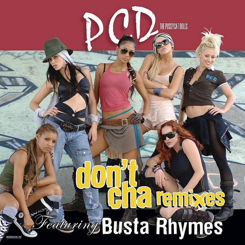 Cover Art: Don't Cha (Remixes)