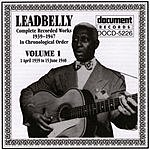 Leadbelly Leadbelly, Vol.1 (1939-1940)