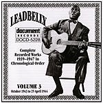 Leadbelly Leadbelly, Vol.3: 1939-1947