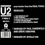 U2 Even Better Than The Real Thing (Remix)