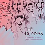 The Donnas I Don't Want To Know (2 Track Single)