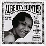 Alberta Hunter Alberta Hunter Vol.4 (1927-1946)