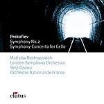 Mstislav Rostropovich Symphony No.2 And Sinfonia Concertante