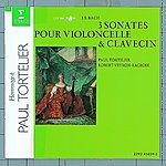Paul Tortelier 3 Sonatas For Cello And Harpsichord