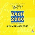 Nikolaus Harnoncourt Cantatas BWV  1-3