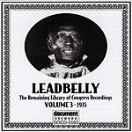 Leadbelly Leadbelly ARC & Library Of Congress Recordings Vol.3 (1935)