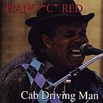 Piano 'C' Red Cab Driving Man