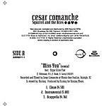 Cesar Comanche Miss You (Single)