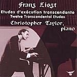 Christopher Taylor Etudes D'Execution Transcendante