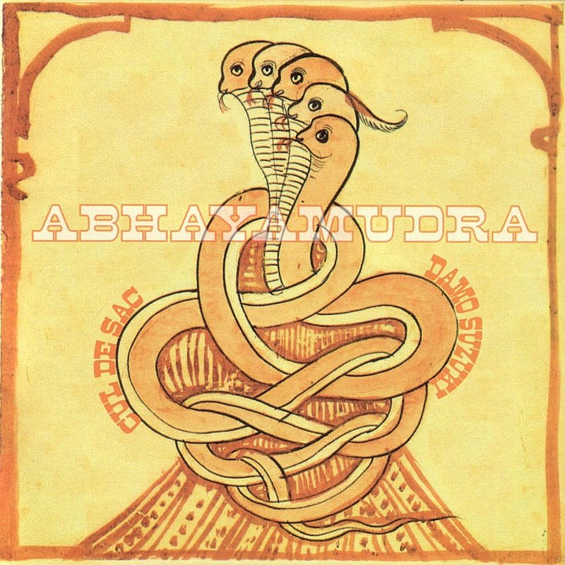 Cover Art: Abhayamudra
