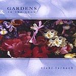 Vicki Larnach Gardens In The Snow