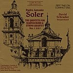 David Schrader The Quintets For Harpsichord & String Quartet Nos. 1, 2 & 3