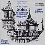 David Schrader The Quintets For Harpsichord & String Quartet Nos. 4, 5 & 6