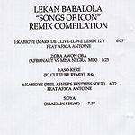 Lekan Babalola Songs Of Icon: Remix Compilation
