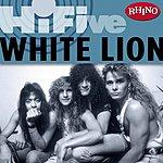 White Lion Rhino Hi-Five: White Lion